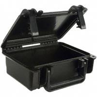 """Serpac - SE120,BK - CASE PLSTC BLACK 8.7""""L X 7.45""""W"""