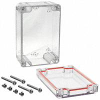 "Serpac - RB53P06C16C - BOX PLSTC CLEAR 4.72""L X 3.15""W"