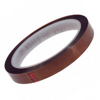 3M - 5413 AMBER 1/2IN X 36YD - TAPE POLYIMIDE HIGH TEMP 1/2""