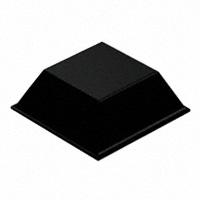 """3M - SJ-5023-BLACK - BUMPER SQU 0.81""""L X 0.81""""W BLK"""