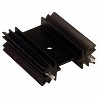 "Aavid Thermalloy - 513102B02500G - HEATSINK TO-220 W/PINS 1.5""TALL"