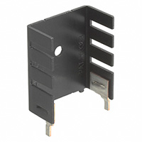 Aavid Thermalloy - 6021BG - HEATSINK TO-220 TABS BLACK