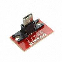 SparkFun Electronics - BOB-10031 - USB MICROB PLUG BREAKOUT
