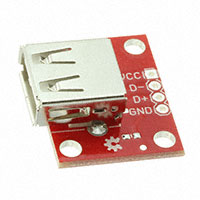 SparkFun Electronics - BOB-12700 - SPARKFUN USB TYPE A FEMALE BREAK