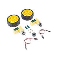 SparkFun Electronics - ROB-13260 - GEARMOTOR 65 RPM 3VDC