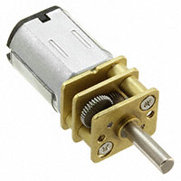 SparkFun Electronics - ROB-12281 - GEARMOTOR 130 RPM 12VDC