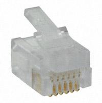 Stewart Connector - 940-SP-3066R - CONN MOD PLUG 6P6C UNSHIELDED