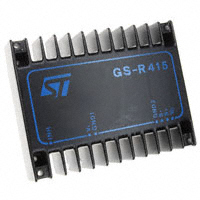 STMicroelectronics - GS-R415 - IC REG SW STEP DOWN 4A 15V