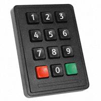Storm Interface - 7202-12T0203 - SWITCH KEYPAD 12 KEY 0.05A 24V