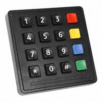 Storm Interface - 7202-16T0203 - SWITCH KEYPAD 16 KEY 0.05A 24V