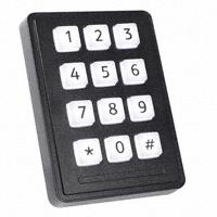 Storm Interface - 7203-12TW203 - SWITCH KEYPAD 12 KEY 0.05A 24V