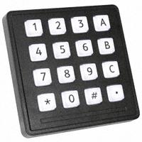 Storm Interface - 7203-16TW203 - SWITCH KEYPAD 16 KEY 0.05A 24V