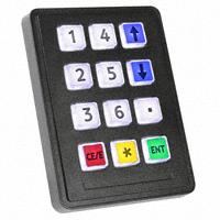 Storm Interface - 7207-121W203 - SWITCH KEYPAD 12 KEY 0.05A 24V