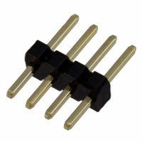 "Sullins Connector Solutions - GRPB041VWVN-RC - CONN HEADER .050"" 4POS PCB GOLD"