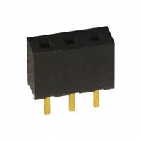 Sullins Connector Solutions - NPPN031BFCN-RC - CONN RECEPT 2MM SINGLE STR 3POS