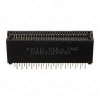 Sullins Connector Solutions - RBB30DHHN - CONN EDGE DUAL FMALE 60POS 0.050