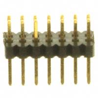 Sullins Connector Solutions - SMH100-LPSE-D07-ST-BK - CONN HEADER 14POS 1MM DL AU T/H