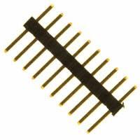 Sullins Connector Solutions - SMH100-LPSE-S10-ST-BK - CONN HEADER 10POS 1MM STR T/H AU