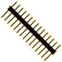 Sullins Connector Solutions - SMH100-LPSE-S15-ST-BK - CONN HEADER 15POS 1MM STR T/H AU