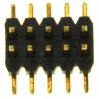 Sullins Connector Solutions - SMH101-LPSE-D05-SP-BK - CONN HEADER 10POS 1MM DL AU SMD