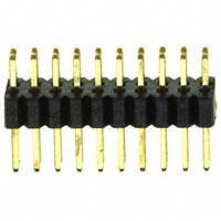 Sullins Connector Solutions - SMH150-LPSE-D10-ST-BK - CONN HEADER 20POS 1MM DL AU T/H