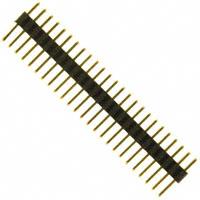 Sullins Connector Solutions - SMH150-LPSE-D25-ST-BK - CONN HEADER 50POS 1MM DL AU T/H