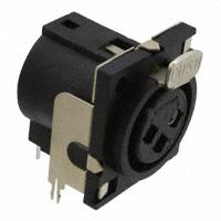 Switchcraft Inc. - PQG3FRA112 - CONN PLUG 3POS FEMALE R/A PCB