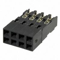 TE Connectivity AMP Connectors - 102935-4 - CONN RCPT 8POS .125 IDC 50GOLD