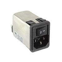 TE Connectivity Corcom Filters - 10CHS1 - PWR ENT MOD RCPT IEC320-C14 PNL