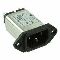 TE Connectivity Corcom Filters - 6609003-4 - PWR ENT RCPT IEC320-C14 PANEL QC