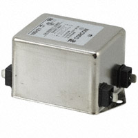 TE Connectivity Corcom Filters - 3-1609037-0 - LINE FILTER 250VAC 10A CHASS MNT
