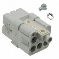 TE Connectivity AMP Connectors - 1102194-1 - INSERT FEMALE 5POS+1GND CRIMP