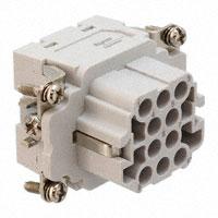 TE Connectivity AMP Connectors - 1102919-1 - INSERT FEMALE 10POS+1GND CRIMP