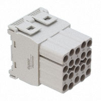 TE Connectivity AMP Connectors - 1103145-1 - MODULE FEMALE 20POS CRIMP