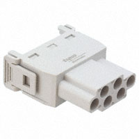 TE Connectivity AMP Connectors - 1103245-1 - MODULE FEMALE 6POS CRIMP