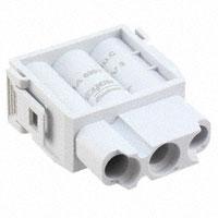 TE Connectivity AMP Connectors - 1103273-1 - MODULE FEMALE 3POS CRIMP