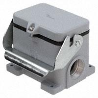 TE Connectivity AMP Connectors - 1106481-1 - CONN BASE SIDE ENTRY SZ12 M40