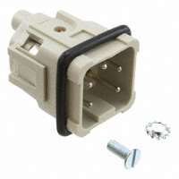 TE Connectivity AMP Connectors - 1-1103402-1 - INSERT MALE 4POS+1GND SCREW