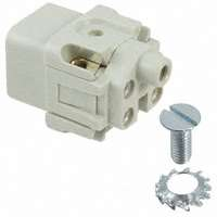TE Connectivity AMP Connectors - 1-1103403-1 - INSERT FEMALE 4POS+1GND SCREW