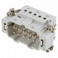 TE Connectivity AMP Connectors - 1-1103636-1 - INSERT MALE 10POS+1GND SCREW