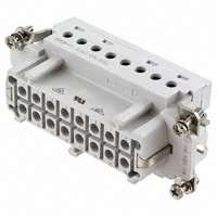 TE Connectivity AMP Connectors - 1-1103639-1 - INSERT FEMALE 16POS+1GND SCREW
