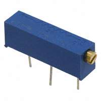 TE Connectivity Passive Product - 1623866-8 - TRIMMER 2K OHM 0.75W TH