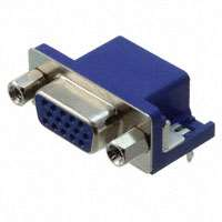 TE Connectivity AMP Connectors - 1-1734344-2 - CONN DSUB HD RCPT 15POS R/A SLDR