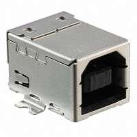 TE Connectivity AMP Connectors - 1-1734346-1 - CONN RCPT USB TYPE B SMT R/A