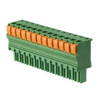 TE Connectivity AMP Connectors - 1-1986720-3 - TERM BLOCK PLUG 13POS STR 3.81MM