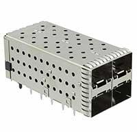 TE Connectivity AMP Connectors - 1-2007637-8 - SFP+ ASSY 2X2 EMI SPG NO LP ENHA