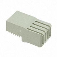 TE Connectivity AMP Connectors - 120943-2 - CONN RCPT 4POS R/A GRAY
