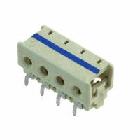 TE Connectivity AMP Connectors - 1-2106489-4 - CONN IDC HOUSING 4POS 20AWG T/H