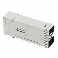 TE Connectivity AMP Connectors - 1-2198318-9 - CONN ZSFP+ RCPT W/CAGE 2X1 40POS