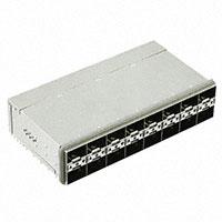 TE Connectivity AMP Connectors - 1-2198346-7 - CONN ZSFP+ RCPT W/CAGE 2X8